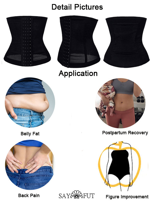 Hourglass Corset Weight Loss Waist Training Shapewear(2)