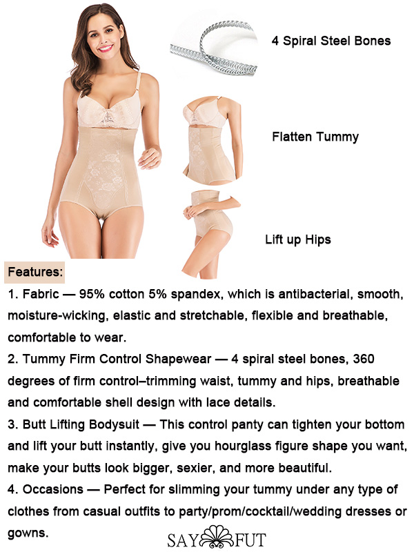 Body Shaper Best Tummy Control with Floral Print(1)