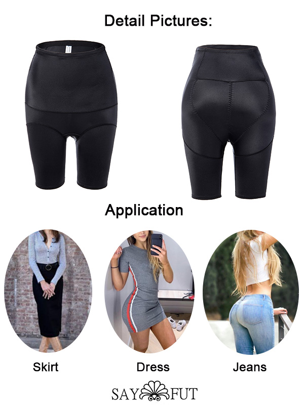 High Waist Tummy Contol Body Shaper Mid-Thigh Shorts(2)