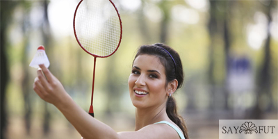 Can playing badminton lose weight?